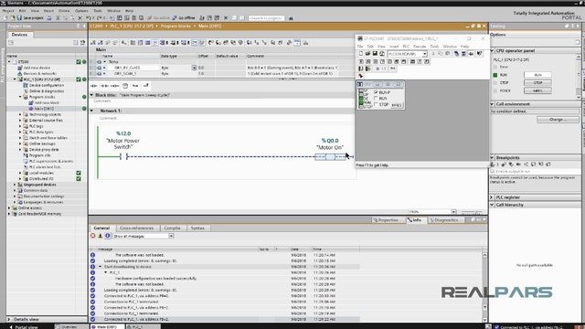 12. How to Use the IO on the Remote IO Rack (TIA Portal)