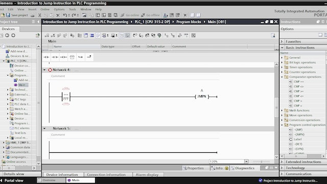 1. Introduction to Jump Instruction in PLC Programming