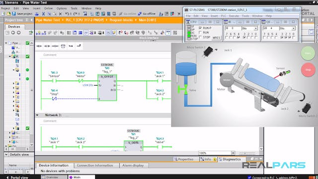 21. Pipe Water Test PLC Program _ Part 4