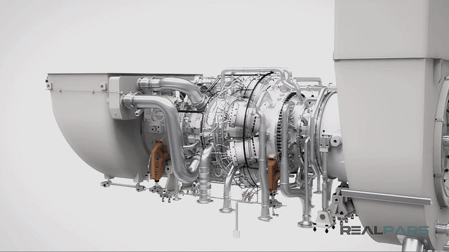 5. Gas Turbine Temperature Control PLC Program - Part 1