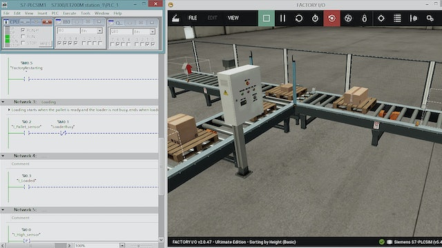 147. Now You Can Simulate Your PLC Programs in a 3D Environment
