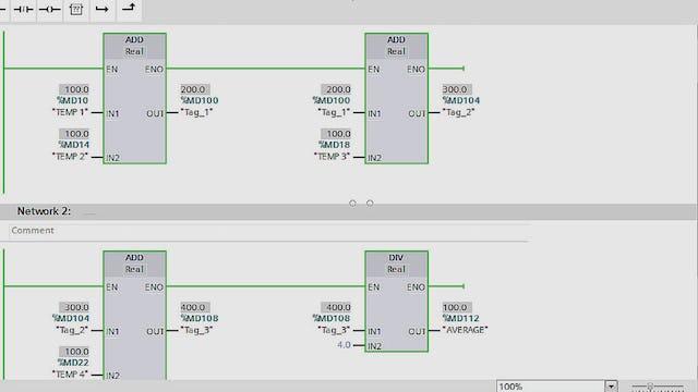 136. Gas Turbine Temperature Control PLC Program - Part 2