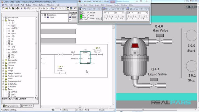 72. Automatic Industrial Dryer PLC Program (Not Instruction)