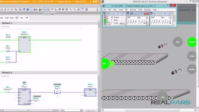 116. Material Handling PLC Program _ ...