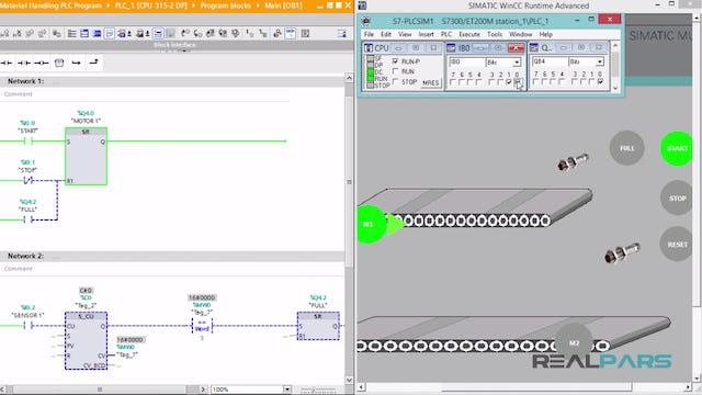 116. Material Handling PLC Program _ Part 3