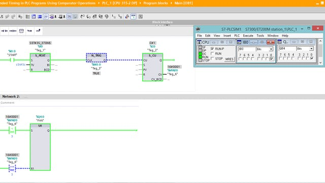 123. Extended Timing in PLC Programs Using Comparator Operations - Part 2