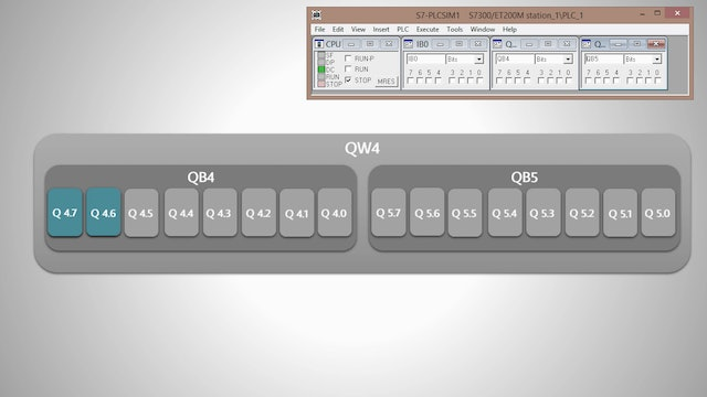 6. Turning on PLC Outputs in Sequential Order – Part 1