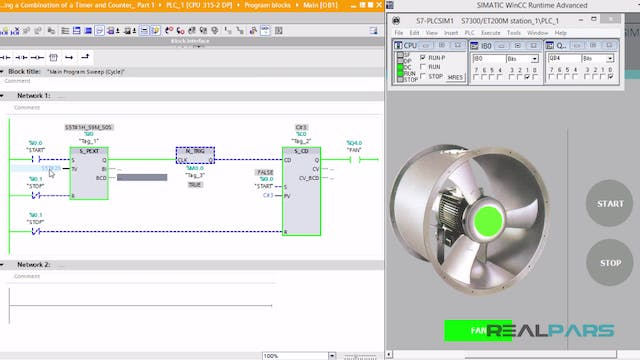 104. Extended Timing in PLC Programs Using a Combination of a Timer and Counter_ Part 1