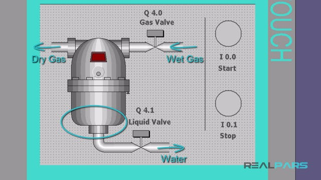 71. Automatic Industrial Dryer PLC Program