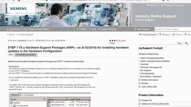 270. How to Update STEP7 V5.X Hardware Catalog (Offline)