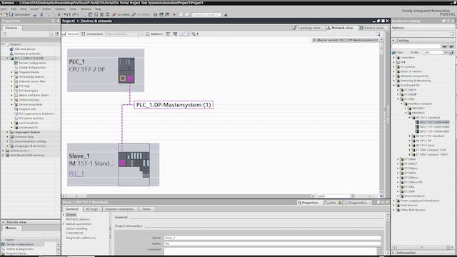 10. Software Setup for Profibus-DP - Part 2 (TIA Portal)