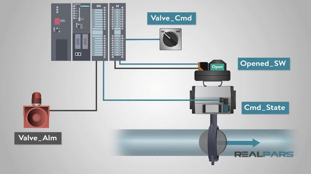 5. Practical Example of Using an FB (Valve Control) - Part 1