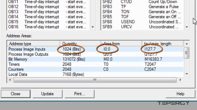 35. PLC Input, Output and Memory Bit Addressing