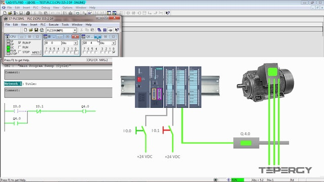 40. How to Use a Normally Open Stop Switch in Your PLC Program?