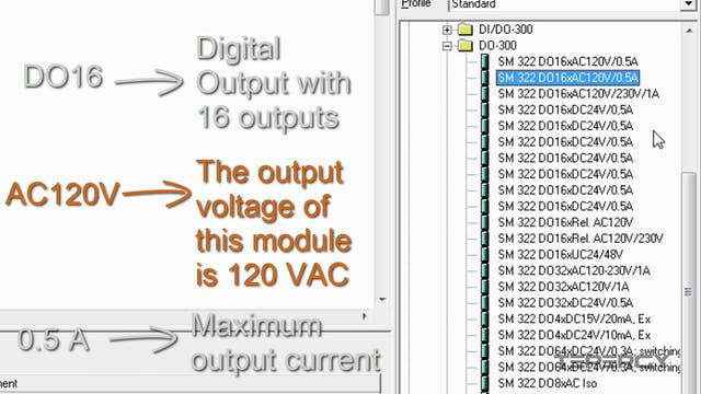 30. PLC Digital Output Module Configuration