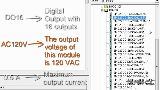 30. PLC Digital Output Module Configuration
