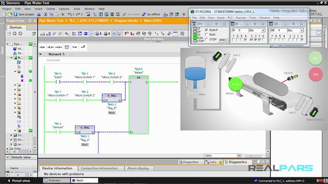 22. Pipe Water Test PLC Program _ Part 5