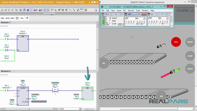 117. Material Handling PLC program - Part 4