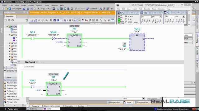 128. Assembly Line PLC Program – Part 3