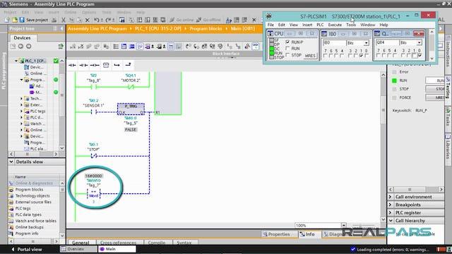 130. Assembly Line PLC Program – Part 5