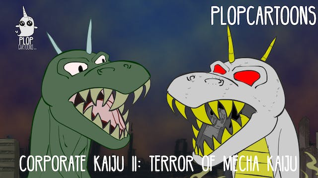 Corporate Kaiju VS Robo Kaiju