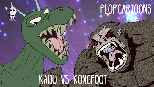 Corporate Kaiju VS Giant Kong Foot
