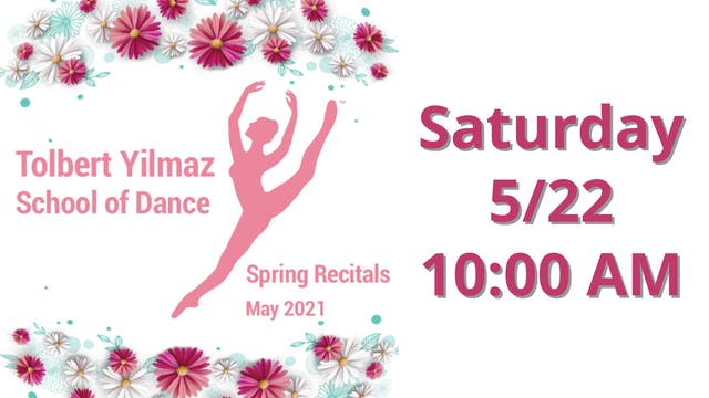Saturday 5/22 10:00 AM