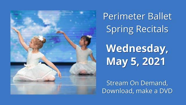 Spring Recitals 5/5/2021 7:00 PM
