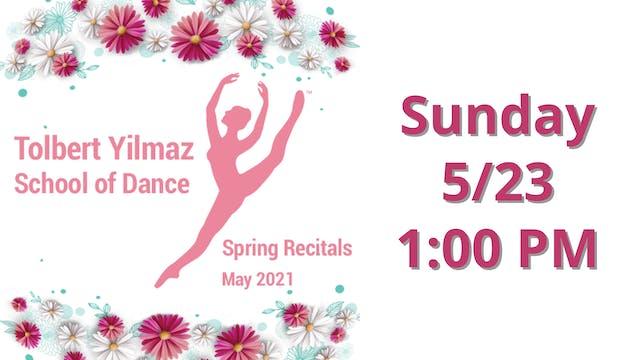 Sunday 5/23 1:00 PM