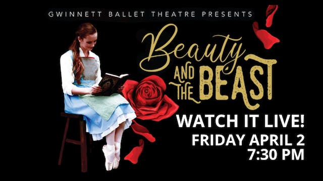Beauty and the Beast Live and VOD: 4/2/21 7:30 pm