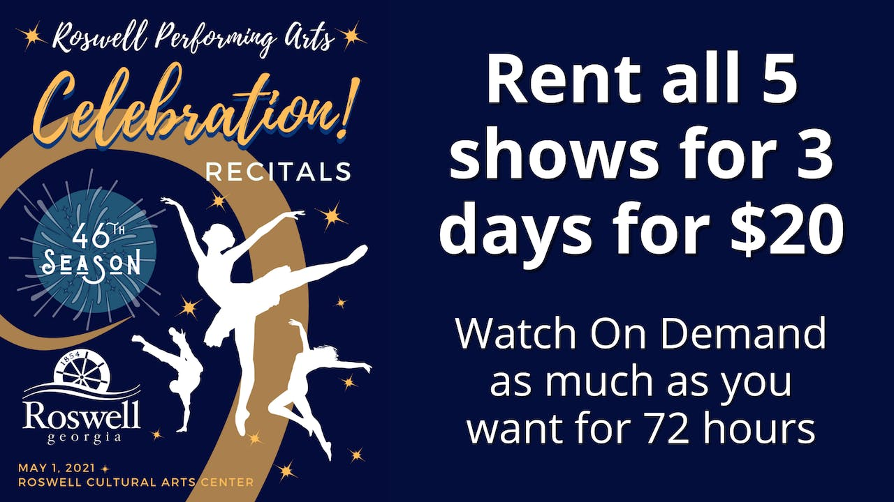 Roswell Performing Arts: Rent Celebration!