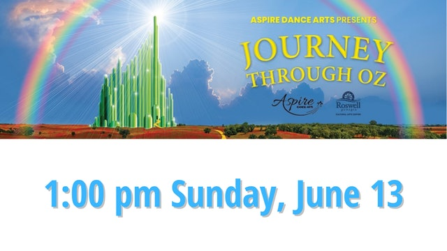 DVD image file for Aspire Dance Arts, 1:00 PM Sunday, June 13, 2021