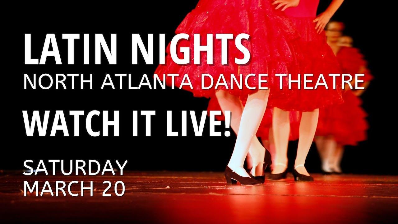 Latin Nights LIVE! 03/20/2021 Both Shows