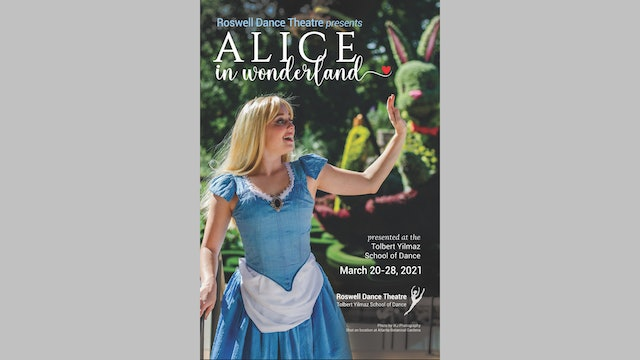 Program for Alice in Wonderland (Alice cover)