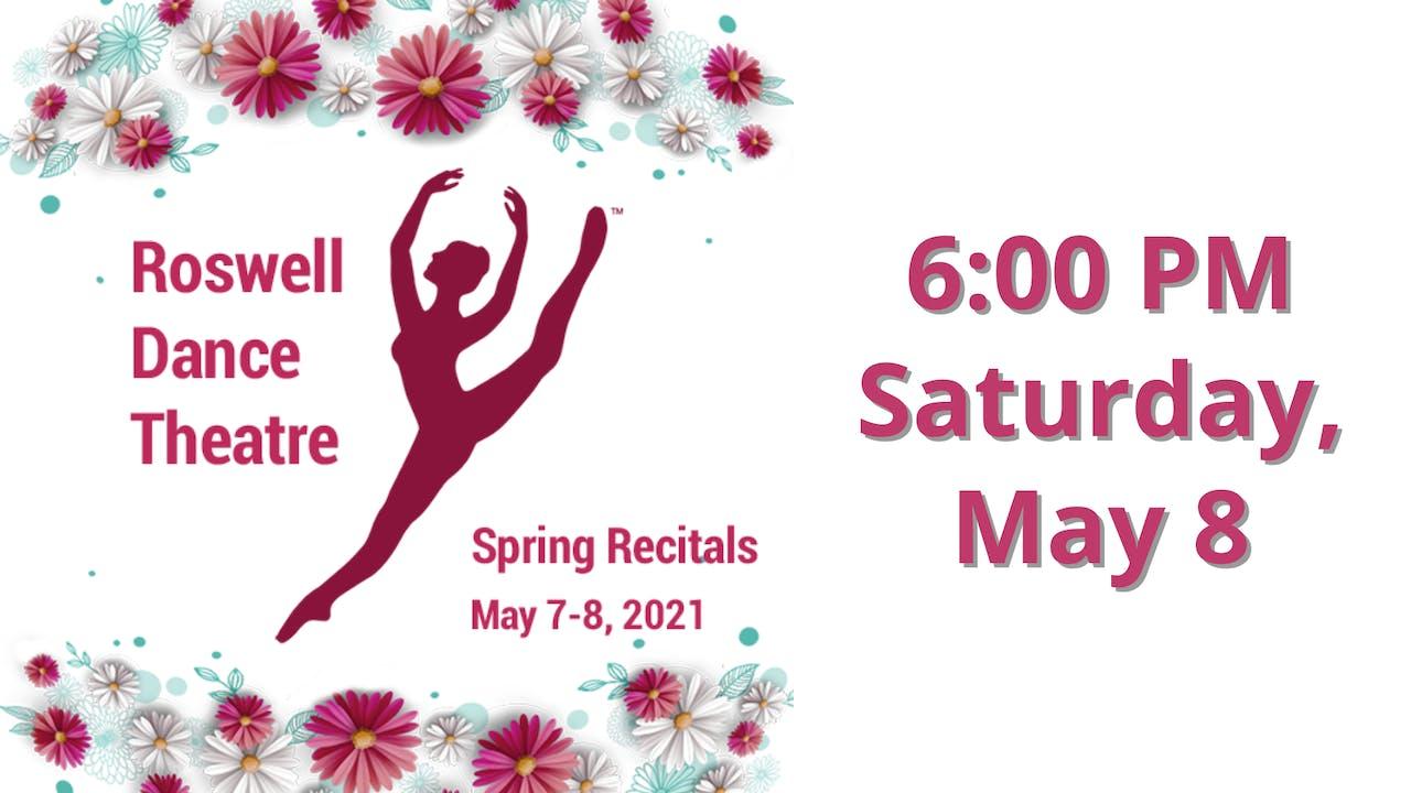 Spring Recitals 5/8/2021 6:00 PM