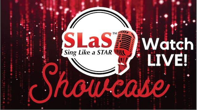 Sing Like A Star Showcase Saturday 5/8/2021 11:00 AM