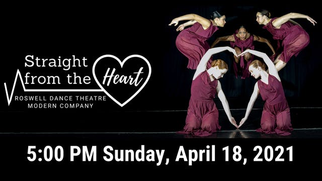 Straight from the Heart LIVE! 04/18/2021 5:00 PM
