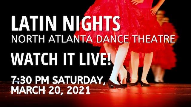 Latin Nights LIVE! 03/20/2021 7:30 PM
