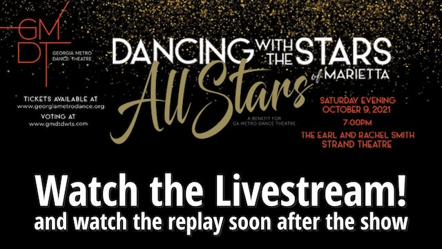 GMDT Dancing with the Stars All Stars Livestream