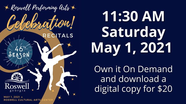 Celebration! 5/1/2021 11:30 AM