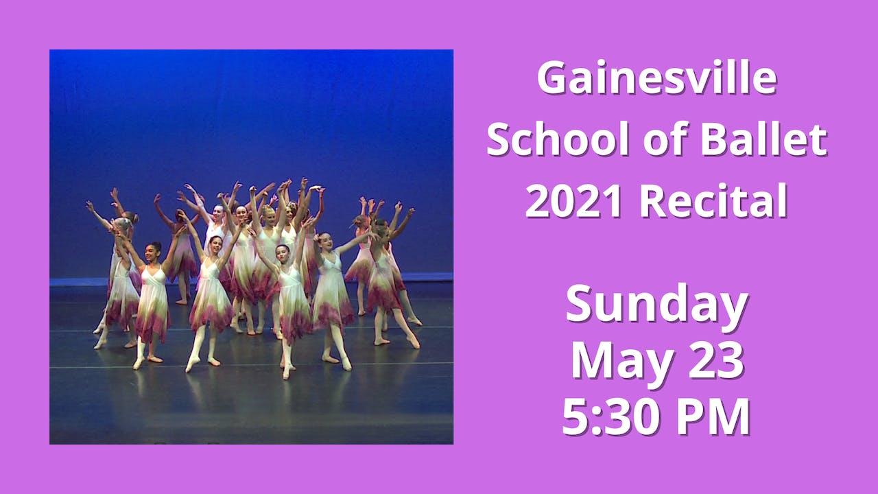 2021 Recital 5/23/2021 5:30 PM
