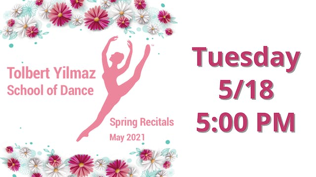 Tuesday 5/18 5:00 PM