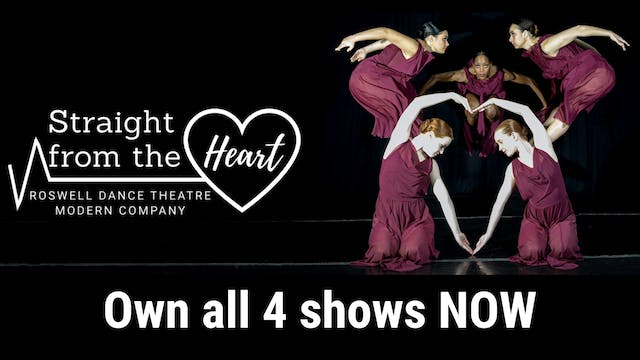 Own Straight from the Heart: all four shows
