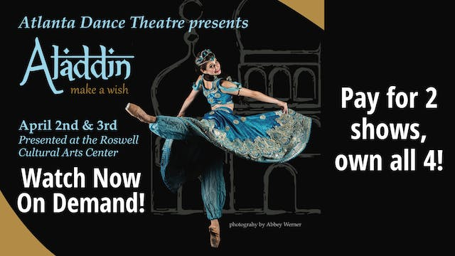 Own Aladdin: all four shows for the price of two