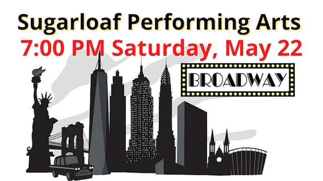 2021 Recitals: Saturday 5/22/2021 7:00 PM