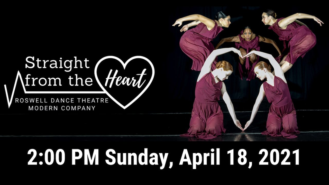 Straight from the Heart LIVE! 04/18/2021 2:00 PM