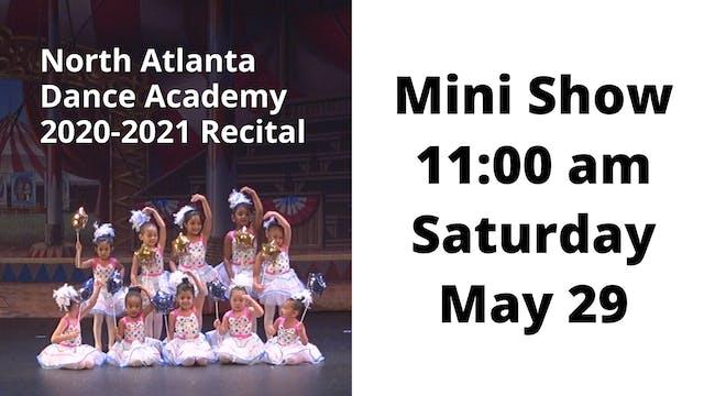 Mini Show: Saturday 5/29/2021 11:00 AM
