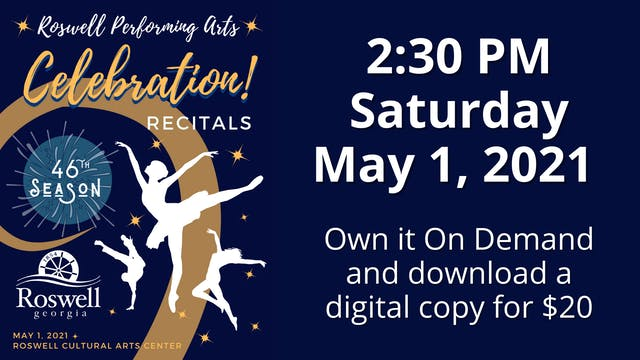 Celebration! 5/1/2021 2:30 PM