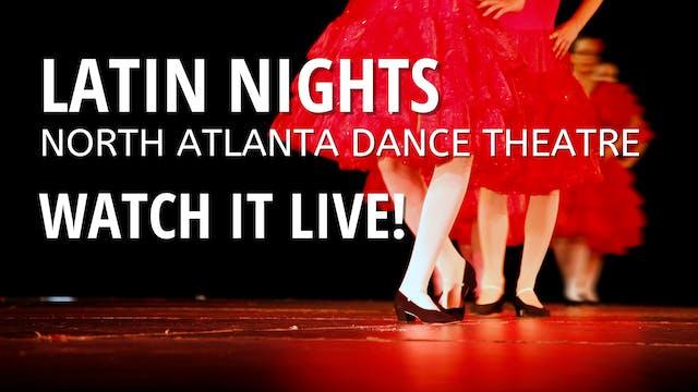 North Atlanta Dance Theatre: Latin Nights Saturday 3/20/2021 2:00 PM