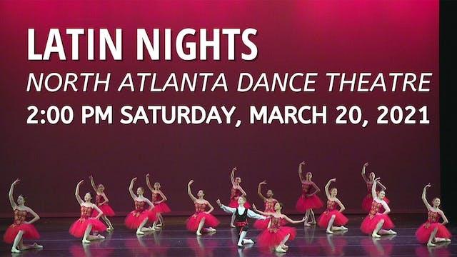Latin Nights 3/20/2021 2:00 PM